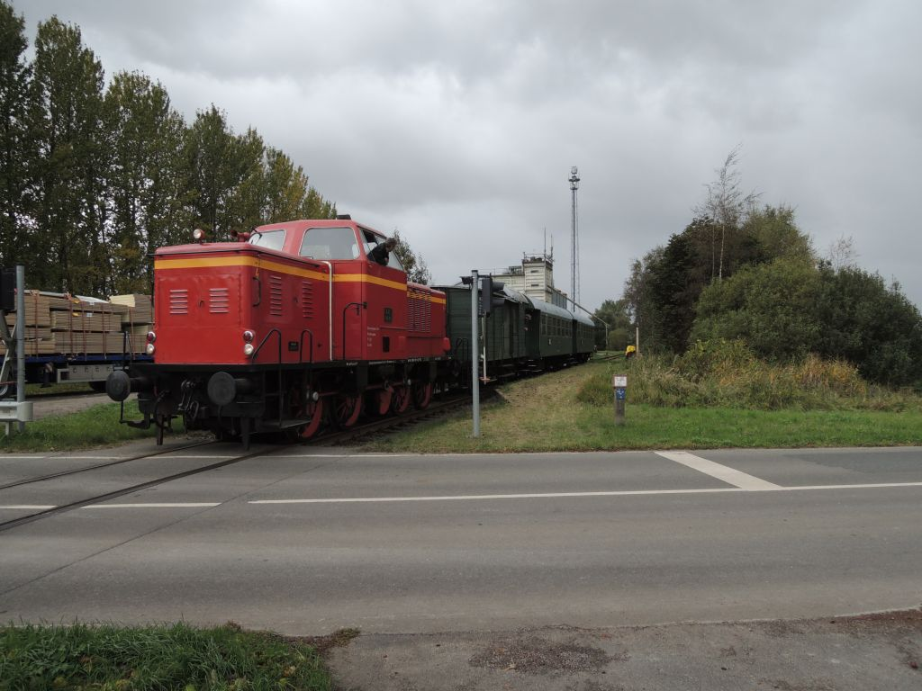 Der Heide-Express hält in Oldershausen