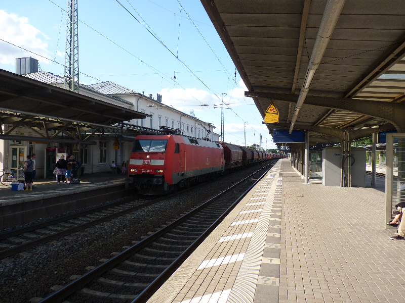 Lüneburg Hauptbahnhof damals heute