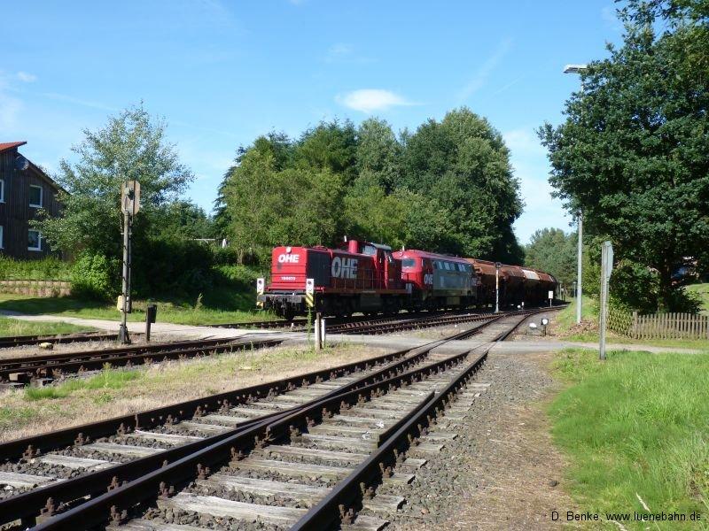 OHE 160073 und 20086 kurz in Hützel